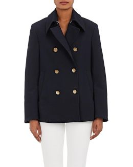 Compact Jersey Peacoat