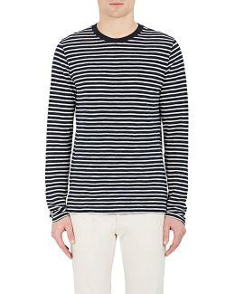 Striped Long Sleeve T