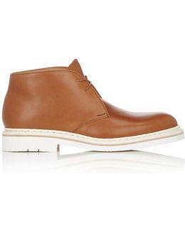 Genet Leather Chukka Boots