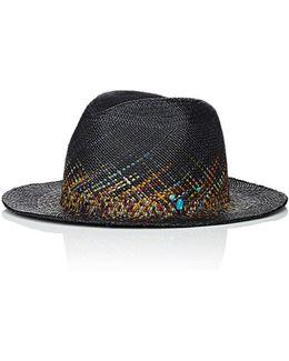 Fireworks Straw Panama Hat
