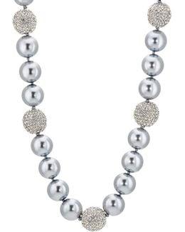 Imitation-pearl & Crystal