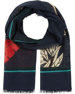 Palm-print Wool