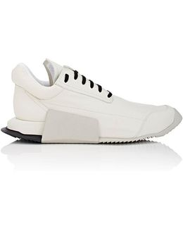 Level Runner Leather Sneakers