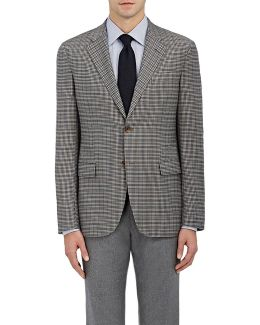 Checked Traveller Wool Two
