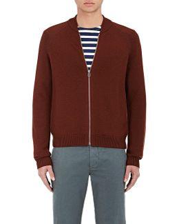 Merino Wool Zip