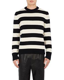 Shane Striped Wool Sweater