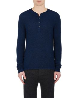 Giles Wool Henley Sweater