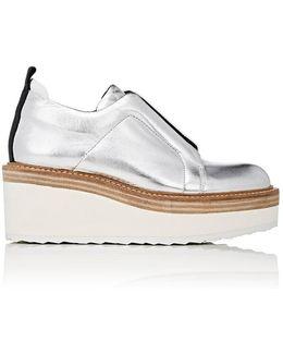Platform Wedge Loafers