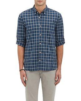Plaid Broadcloth Shirt