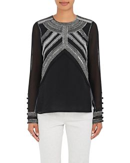 Embellished Georgette Blouse