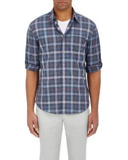 Overplaid Cotton Shirt