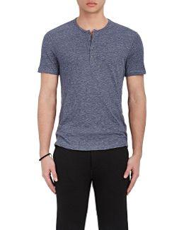 Slub Jersey Henley Shirt