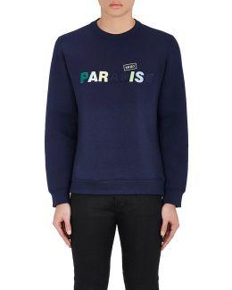 paradise Bonded Jersey Sweatshirt