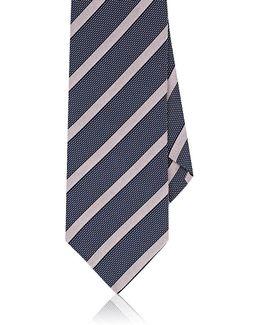 Striped Silk Necktie