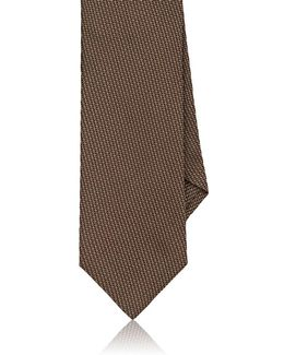 Textured Silk Necktie