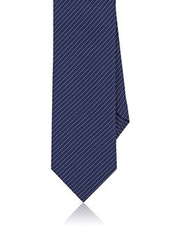Pinstriped Silk Necktie