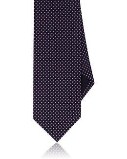 Dotted Silk Necktie