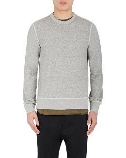 Toweling Cotton Sweatshirt