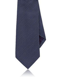 Herringbone Silk Necktie