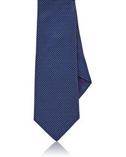 Diamond Neat Silk Necktie
