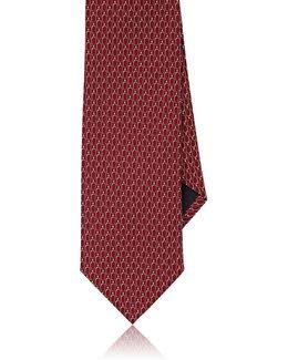 Oval Jacquard Necktie