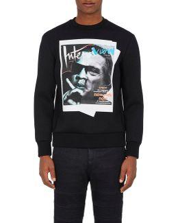 jay De Niro Neoprene Sweatshirt