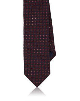 Medallion Silk Necktie