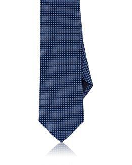 Floral Neat Silk Necktie