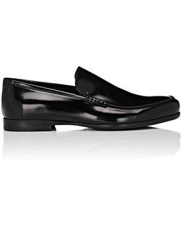 Alec Spazzolato Leather Venetian Loafers