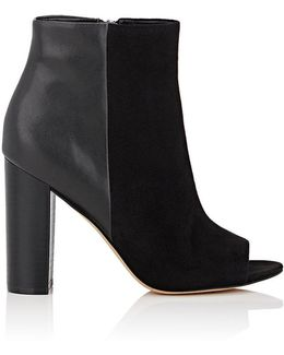 Yarin Suede & Leather Ankle Boots