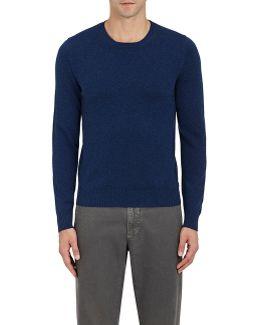 Camel Hair Crewneck Sweater