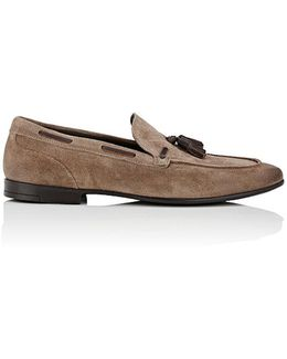 Lois Suede Loafers