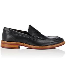 Rooland Leather Penny Loafers