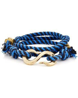 Rope Wrap Bracelet With S