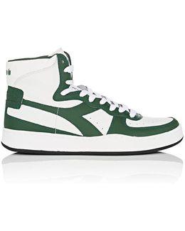 Mi Basket Leather Sneakers
