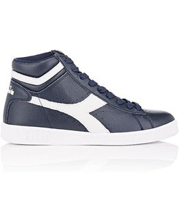 Game L Leather Sneakers
