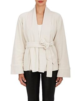 Cotton Belted Cardigan