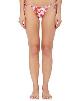 Kate Floral String Bikini Bottom