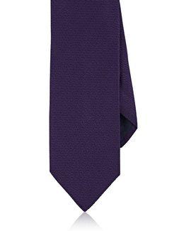Geometric Silk Necktie