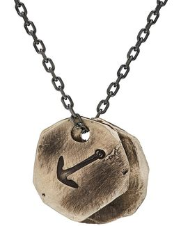 Medallion Pendants On Oval