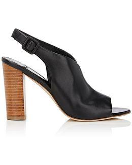 Carini Leather Slingback Sandals