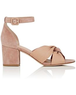 Pasadena Suede & Leather Sandals