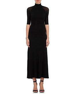 Fluid Jersey Maxi Dress