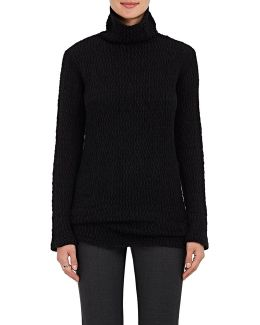 Textured-knit Cashmere