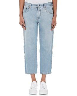 Straight Crop Jeans