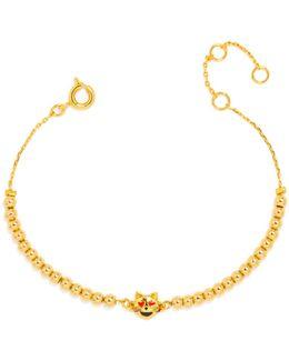 Lovestruck Kitty Emoticharm Bracelet