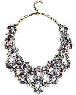 Majesty Crystal Bib-blue
