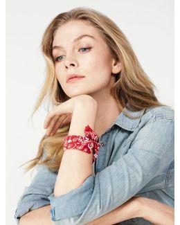 Kenzie Bandana Bracelet