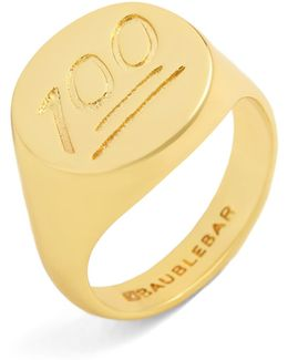 One Hundred Points Ring