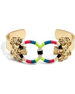 Sarabi Lion Head Bracelet